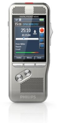 Philips Digtal Pocket Memo 8000