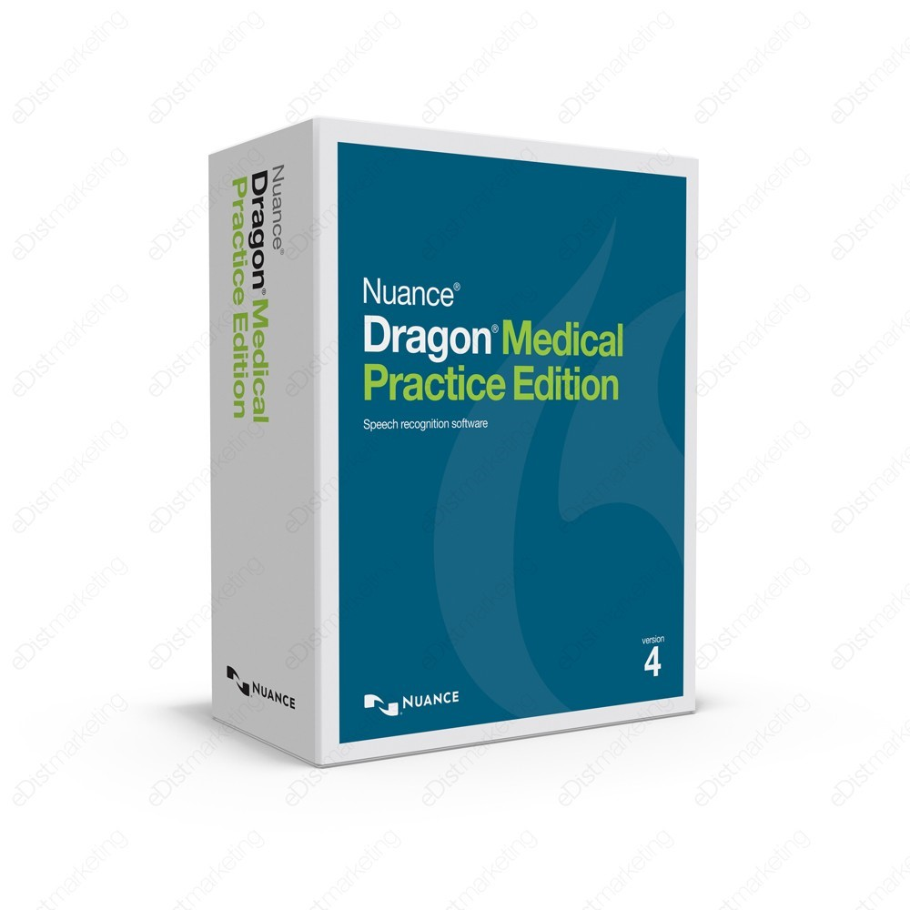 Dragon Medical Practice Edition 4 - $1,599